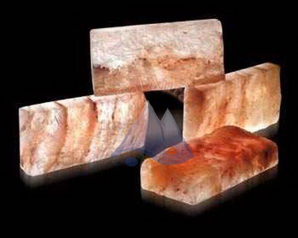 Himalájai rusztikus sótégla 20x10x5 cm