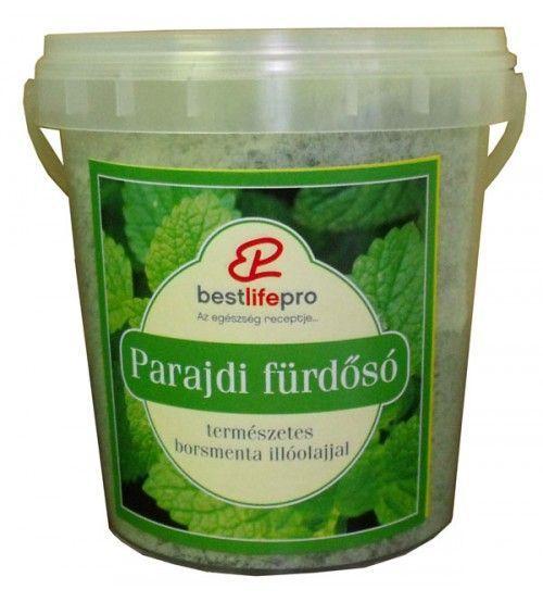 Aromaterápiás Parajdi fürdősó borsmentával