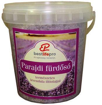 Aromaterápiás Parajdi fürdősó levendulával