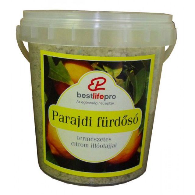 Parajdi fürdősó természetes citrom illóolajjal
