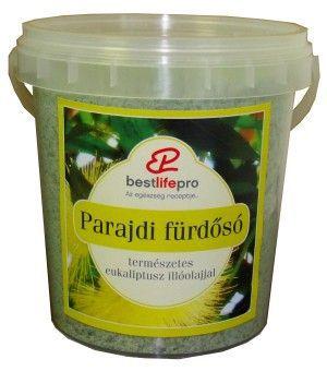 Eukaliptus parajdi fürdősó 100 % illóolajjal