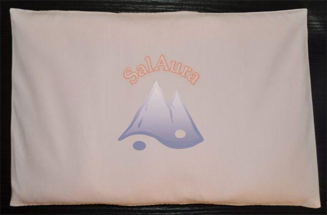 Halványrózsaszín sópárna 20x30 cm