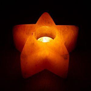Csillag ünnepi sómécses