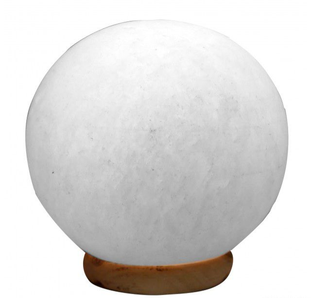 Himalája fehér gömb sólámpa